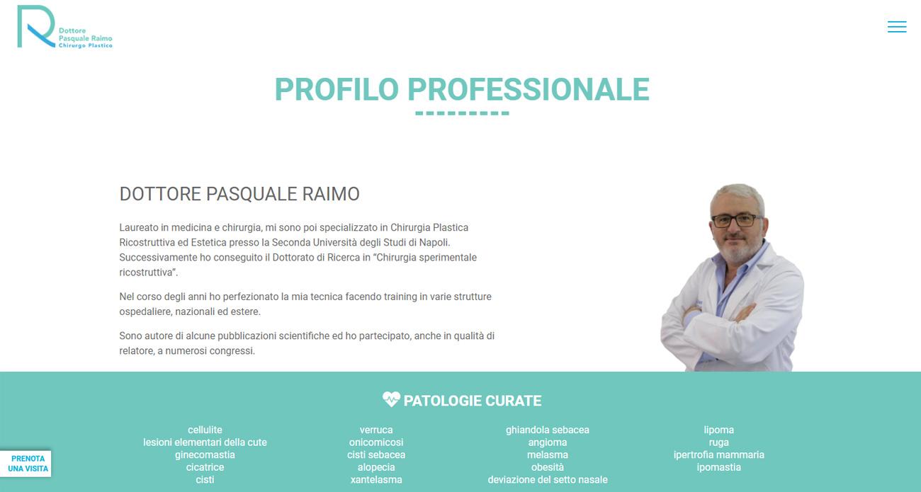 Dottore Pasquale Raimo progetto screen 3