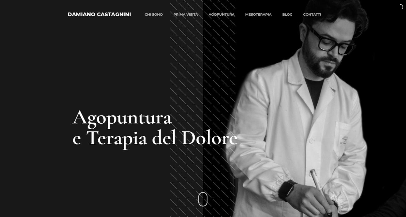 Damiano Castagnini progetto screen 1