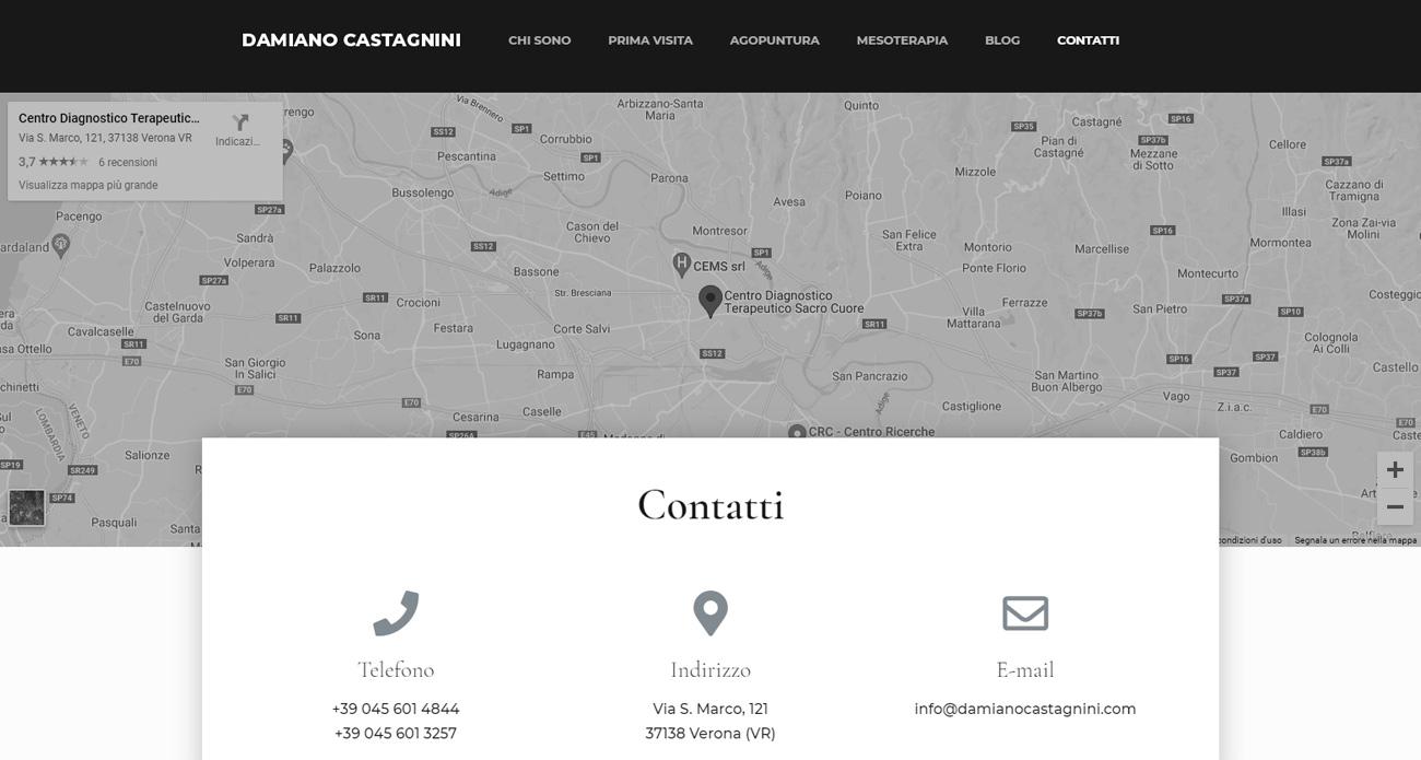 Damiano Castagnini progetto screen 3